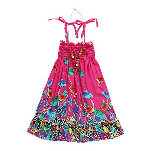 Fairylinks Mädchen Kleid Gr. X-Large, A-hot (Dress Trunk Mädchen Für Up)