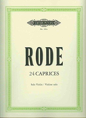 RODE - Caprichos (24) para Violin (Davisson)
