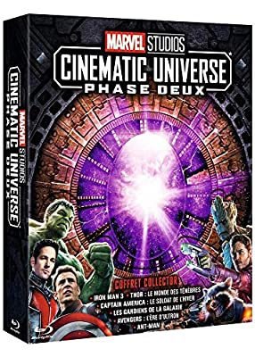 Marvel Studios - Cinematic Universe : Phase Deux [Blu-ray]