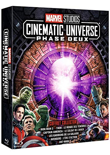 Marvel Studios – Cinematic Universe : Phase Deux [Blu-ray]