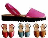 Avarcas menorquínas con plataforma / cuña 2,5 cm, varios colores, abarcas, albarcas, sandalias...