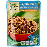 Jardin Bio Quinoa Poulet et Sésame Recette Sud-Américaine Le Doypack 250 g