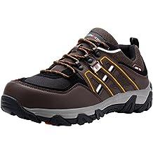 LARNMERN Zapatos de Seguridad para Hombre LM-105 Zapatillas de Seguridad Trabajo Industrial y Deportiva con Puntera de Acero