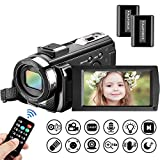 Video Camera Camcorder Mildsix Full HD 1080P Vlogging Camera For YouTube 3.0 Inch
