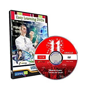 Easy Learning Oracle Database 11g Oracle Exam 1Z0-052 and 1Z0-051 Video Training Course (DVD)