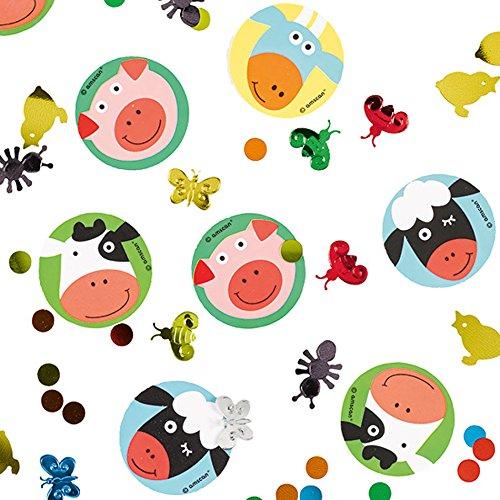 (Amscan 9900388–Dekoration Confetti Farm Fun)