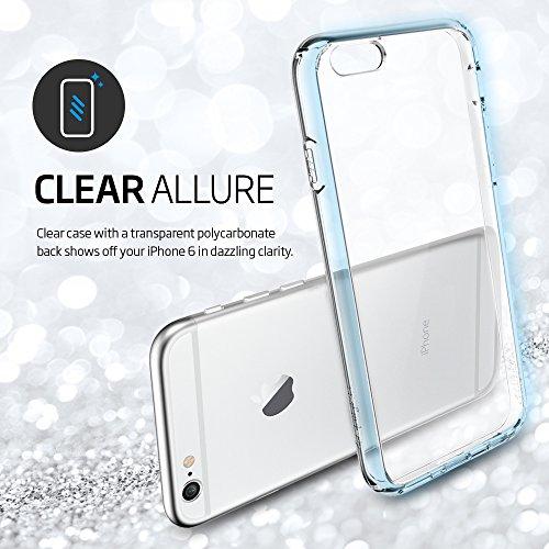 """Spigen iPhone 6 (4.7"""") Case Ultra Hybrid Crystal clear (PET) SGP10954"""