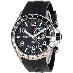 Torgoen Swiss Herren-Armbanduhr Analog Quarz Kunststoff T20304