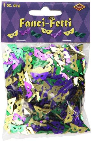 New Orleans Mardi Gras Masken - Beistle 50706-ggp Mardi Gras Masken fanci-fetti