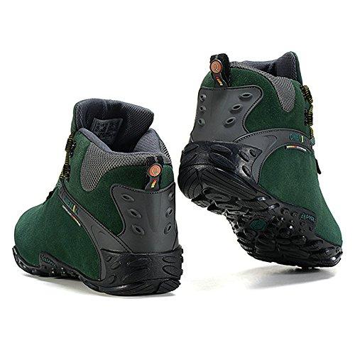 Randonnée foncé Femmes DHiver Sport Chaudes Confortables Haute ONEMIX Trekking Bottes de Trail Chaussures Cheville Neige Bottes foncé Noir de de Imperméables HBdqT
