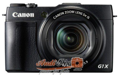 Canon 9167B011 PowerShot G1X Mark II Systemkamera - 400 Mkii Audio