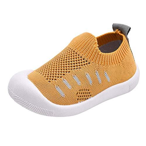 HDUFGJ Unisex Kinderschuhe Sneaker Atmungsaktiv Fliegendes Weben Kinderschuhe Freizeitschuhe Kinderschuhe Leichtgewicht Jungen Turnschuhe Mädchen Laufschuhe Outdoor Schuhe Bequem