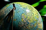 hansepuzzle 15837 Wissenschaft - Globus, 500 Teile in hochwertiger Kartonbox, Puzzle-Teile in wiederverschliessbarem Beutel