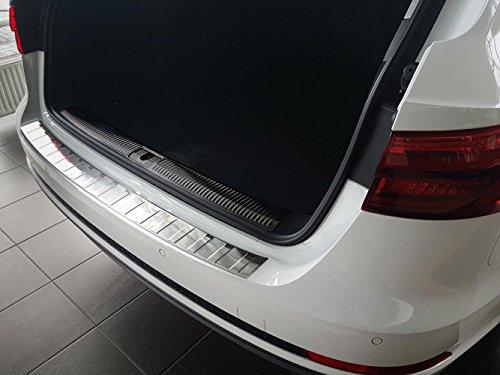 Preisvergleich Produktbild Edelstahl Ladekantenschutz für Audi A4 B9 Avant ab Bj.2015