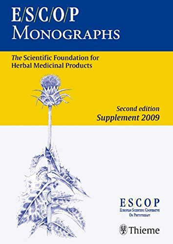 ESCOP Monographs. Second Edition Supplement 2009