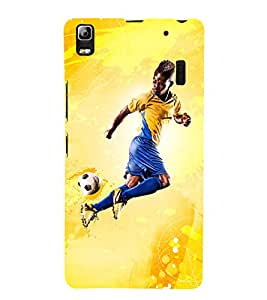 football the greatest sport of all time 3D Hard Polycarbonate Designer Back Case Cover for Lenovo K3 Note