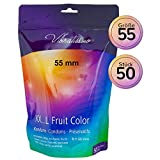 Vibratissimo La Mia Taglia Fruit Color 55 mm - 50 pezzi