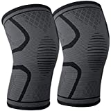 Knee Support Brace, Knee Pads - Premium Recovery & Compression Sleeve for Running, Jogging, Sports, Joint Pain Relief, Arthri