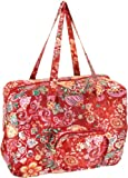 Oilily Painted Flowers Folding shopper Stone OCB0117-9000, Damen Shopper, grau (Stone 9000) 41 x 18 x 31
