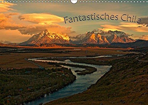Fantastisches Chile (Wandkalender 2019 DIN A3 quer): Land der Kontraste im Süden Amerikas (Monatskalender, 14 Seiten ) (CALVENDO Orte)