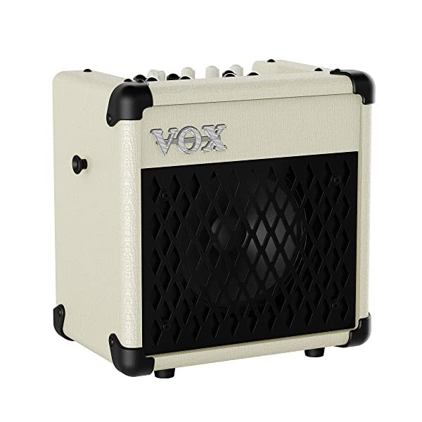 Vox - Mini amplificatore a 5 Pattern ritmici, colore avorio