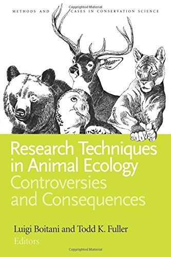 Research Techniques in Animal Ecology: Controversies and Consequences (Issues, Cases, and Methods in Biodiversity Conservation) by Luigi Boitani (2000-02-05)
