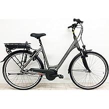 'Barcelona E-Bike Pedelec eléctrico S Bike Bicicleta 28Mujer tiefeinsteiger N470FL con 2018Bosch Active Line Motor, 400WH Batería, 7marchas con de pesca, torontogrey Mate, color torontogrey matt, tamaño 50