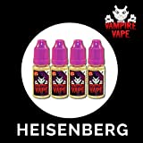 Vampire Vape 4 x Heisenberg (and other flavours) 10ml Bottle by Vampire Vape