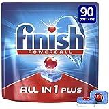 Finish Todo en 1 Plus Lavavajillas pastillas Regular - 90 pastillas