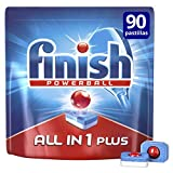 Finish Todo en 1 Plus Regular Pastillas Lavavajillas - 90 un...