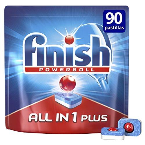 Finish Todo en 1 Plus Regular Pastillas Lavavajillas - 90 unidades