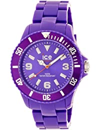 Ice-Watch Unisex-Armbanduhr ice-Solid Big Violett Analog Quarz SD.PE.B.P.12