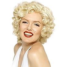 Peluca de Marilyn Monroe ,rubia