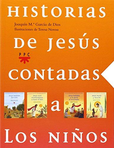 Historias De Jesús Contadas A Los Niños. Estuche Pequeño por Joaquín María García de Dios
