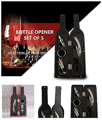 MUMENG® 5 Stück Wein Zubehör Gift Set-Wine
