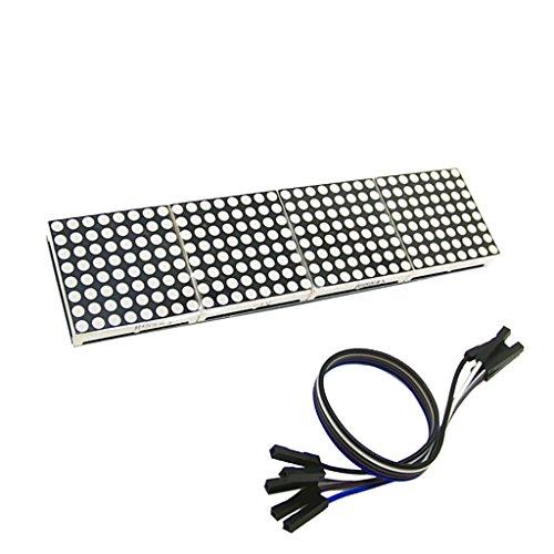 Sharplace MAX7219 LED Dot Matrix Display Modul (Dot-matrix-led)