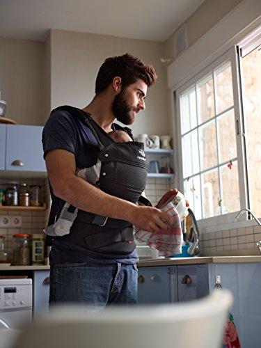 Manduca Babytrage 222-02-60-000, Bauch-, Rücken- und Hüfttrage, schwarz - 5