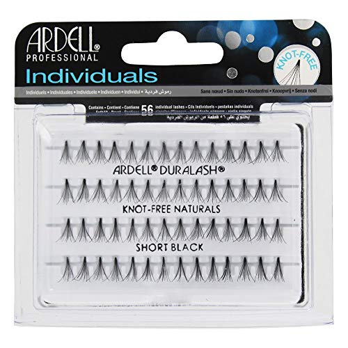 Ardell Duralash Naturals Flare Short Black (56 Lashes) (6 Pack) by Ardell - Ardell Duralash Flare