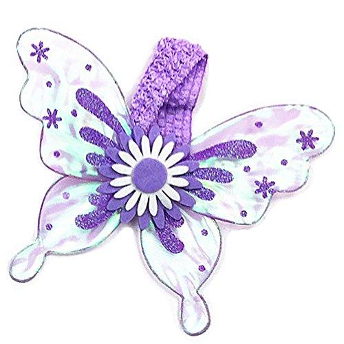 hmetterling Flügel Kostüm für Hunde Oder Katzen, One Size, Violett ()