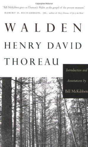 Walden: Introduction and Annotations by Bill McKibben (Concord Library)