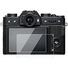Fujifilm x-t20x-t10x-t100pellicola proteggi schermo LCD da 0.33mm di spessore durezza 9H vetro temperato copertura perfetta per fotocamera digitale Fuji XT20XT10XT1002confezione