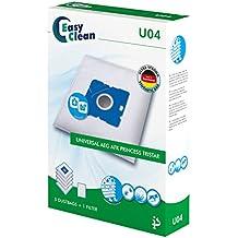 EasyClean EC-0U04 - Bolsas para polvo de microfibra, 5 unidades y 1 filtro