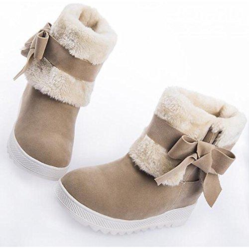 Nubuck Printemps Chute Confort Chaussures Hsxz Cuir Femmes De Neige UOAwT7