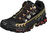 La Sportiva Unisex-Erwachsene Ultra Raptor GTX Black/Yellow Trekking-& Wanderhalbschuhe, Mehrfarbig 000, 44 EU