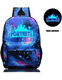 Sac à dos d'école de Fortnite, sac d'école de Fortnite étudiant élégant sac unisexe de toile d'ordinateur portable Sac de sac à dos sac quotidien pour des garçons et des filles d'adolescent