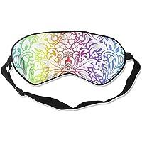 Colorful Floral Texture Sleep Eyes Masks - Comfortable Sleeping Mask Eye Cover For Travelling Night Noon Nap Mediation... preisvergleich bei billige-tabletten.eu