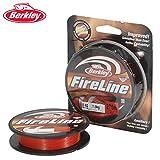 Berkley Fireline 270M 0.15MM rot
