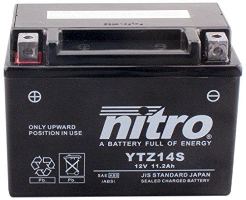 NITRO YTZ14S-N- Batteria Moto AGM chiuso