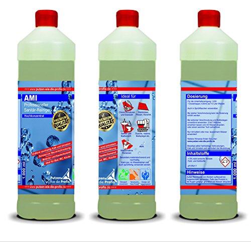 Vier Profi-Reinigungsmittel im Set | Hochkonzentrierte Reiniger für den Haushalt | Sehr ergiebig, tierversuchsfrei und umweltfreundlich - 3