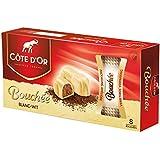 White Bouchée 8 x 24g Blanc Wit Box - Côte d'Or Belgian Chocolates 196g